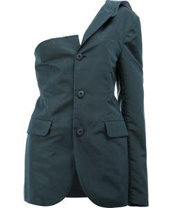 Moohong   Asymmetric Buttoned Blazer Size 36