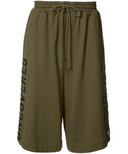 Juun.J   Embroide Track Shorts 48 Cotton