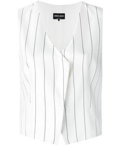 Giorgio Armani | Pinstripe Waistcoat Size 44
