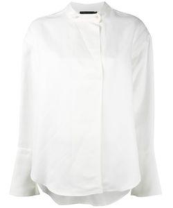 Calvin Klein Collection   Band Collar Shirt