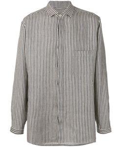 Yohji Yamamoto | Woven Stripe Shirt