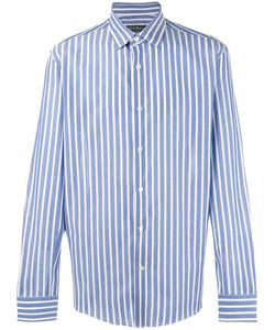 Salvatore Ferragamo | Vertical Striped Shirt