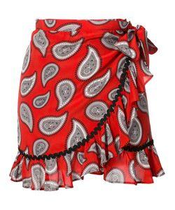 Dodo Bar Or | Milo Wrap Paisley Skirt