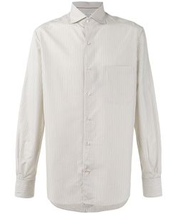 Loro Piana   Alain Striped Shirt Size Xxl