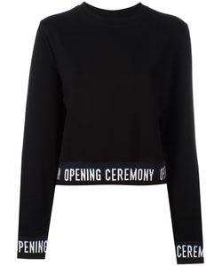 Opening Ceremony | Slogan Trim Sweatshirt Size Medium