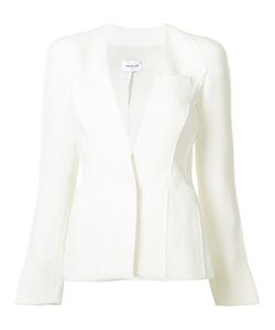 Mugler | Collarless Blazer 38