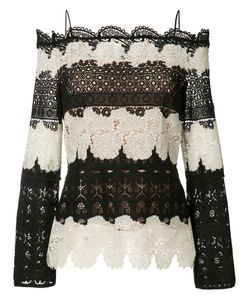 Yigal Azrouel | Off-Shoulder Lace Blouse Women