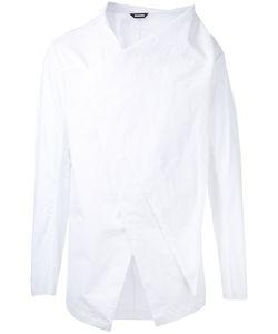 Moohong   Front Draped Shirt Size 48