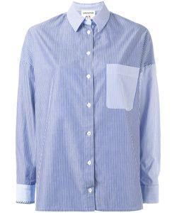 Erika Cavallini | Striped Chest Pocket Shirt Size 42