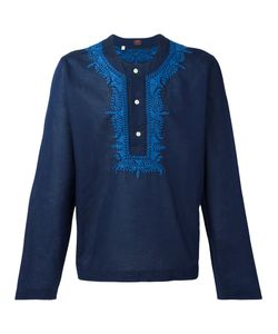 Mp Massimo Piombo | Embroidered Trim Buttoned Tunic Medium