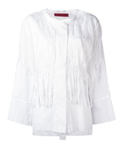 Di Liborio | Frayed Shirt 40 Cotton/Linen/Flax