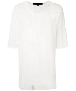 Cedric Jacquemyn | Three-Quarters Sleeve Mesh T-Shirt