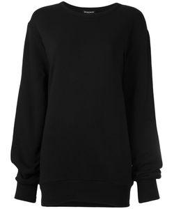 Ann Demeulemeester Blanche   Round Neck Sweatshirt 36 Cotton