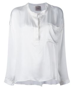 Nude | Henley Blouse 38