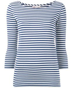 The Seafarer | Striped Knitted T-Shirt Size Xs