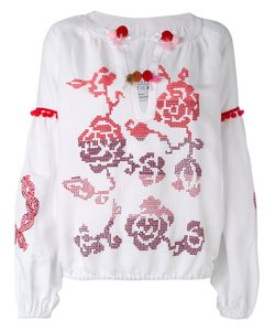 Forte Couture   Patterned Blouse