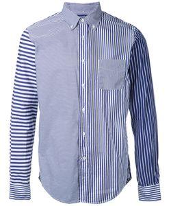 Wooster + Lardini | Patchwork Striped Shirt