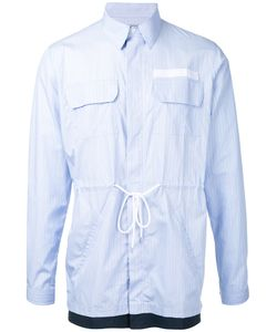 Casely-Hayford   Striped Shirt Jacket Xs