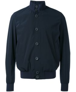 Herno   Buttoned Bomber Jacket 50