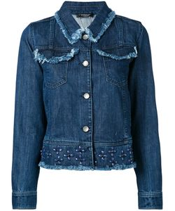 Twin-Set   Studded Denim Jacket Size 48