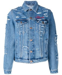 Forte Couture   Love Distressed Denim Jacket