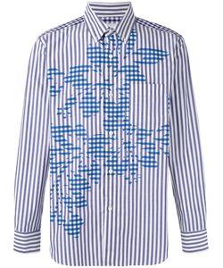 Ganryu Comme Des Garcons | Striped Shirt