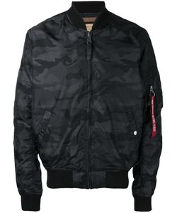 Alpha Industries | Camouflage Bomber Jacket
