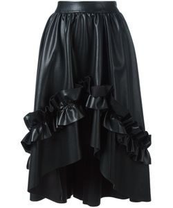 Cédric Charlier | Gathe Detail Ruffled Skirt 40 Polyester