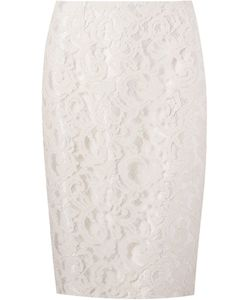 Martha Medeiros | Marescot Lace Pencil Skirt Size