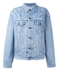 Forte Couture   Sequin Slogan Denim Jacket