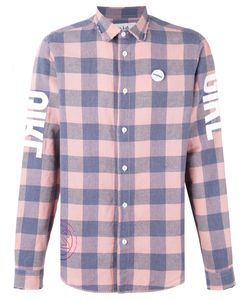 Sold Out Frvr   Printed Checked Shirt