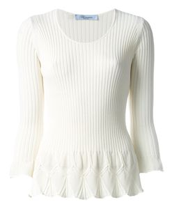 Blumarine   Flared Knit Top Size 42