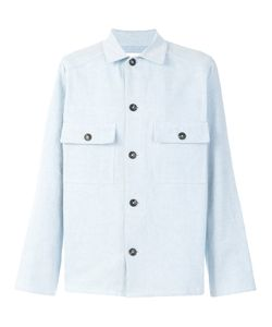 Umit Benan | Two Pocket Garment Dye Shirt Jacket Men