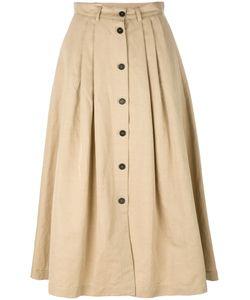 Incotex | Buttoned Full Skirt Size 40