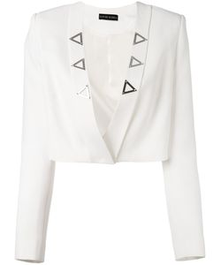 David Koma | Cropped Open Jacket