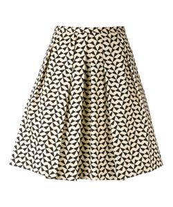 Eggs   Triangle Print Skirt 44