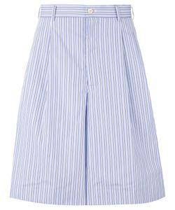 Comme Des Garçons Homme Plus | Striped Bermuda Shorts