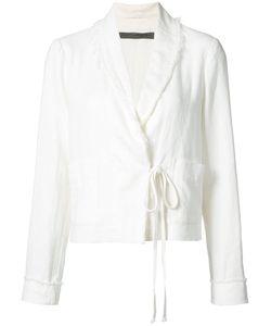 Raquel Allegra | Lace-Up Jacket 3
