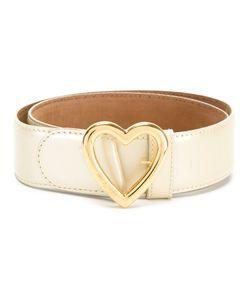 Moschino Vintage | Heart Buckle Belt