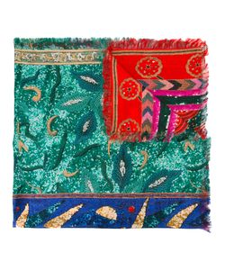 Pierre-Louis Mascia | Frayed Edge Patchwork Scarf