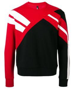 Neil Barrett | Striped Panel Sweatshirt
