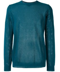 Roberto Collina | Perforated Detail Jumper Size 52