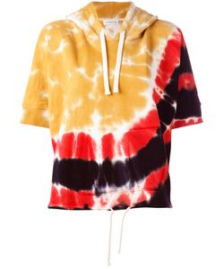 Faith Connexion   Tie-Dye Shortsleeved Hoodie Size Xs