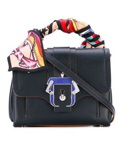Paula Cademartori | Scarf Handle Mini Tote Bag
