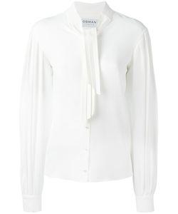 Osman | Tie-Neck Shirt 8 Acetate/Silk