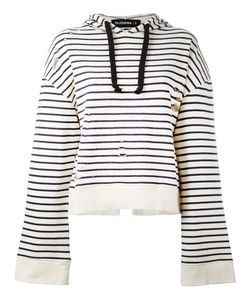 Filles A Papa | Striped Open Back Hoodie Size 2