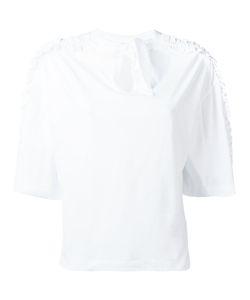 Steve J & Yoni P | Back Ribbon Frill T-Shirt