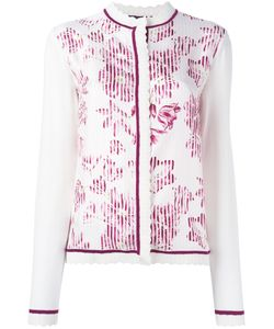Salvatore Ferragamo | Print Cardigan Medium Virgin Wool/Silk