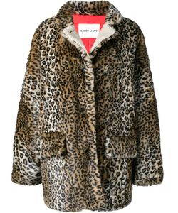 Sandy Liang | Quincy Leopard Print Coat 36