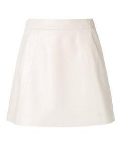 Loveless | A-Line Mini Skirt 34 Lamb Skin